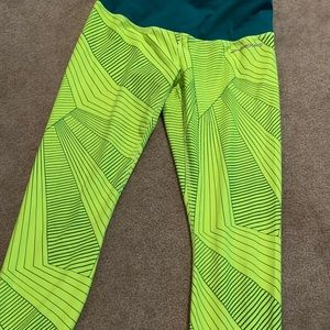 Brooks reversible running tights